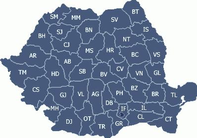Judetele din Romania